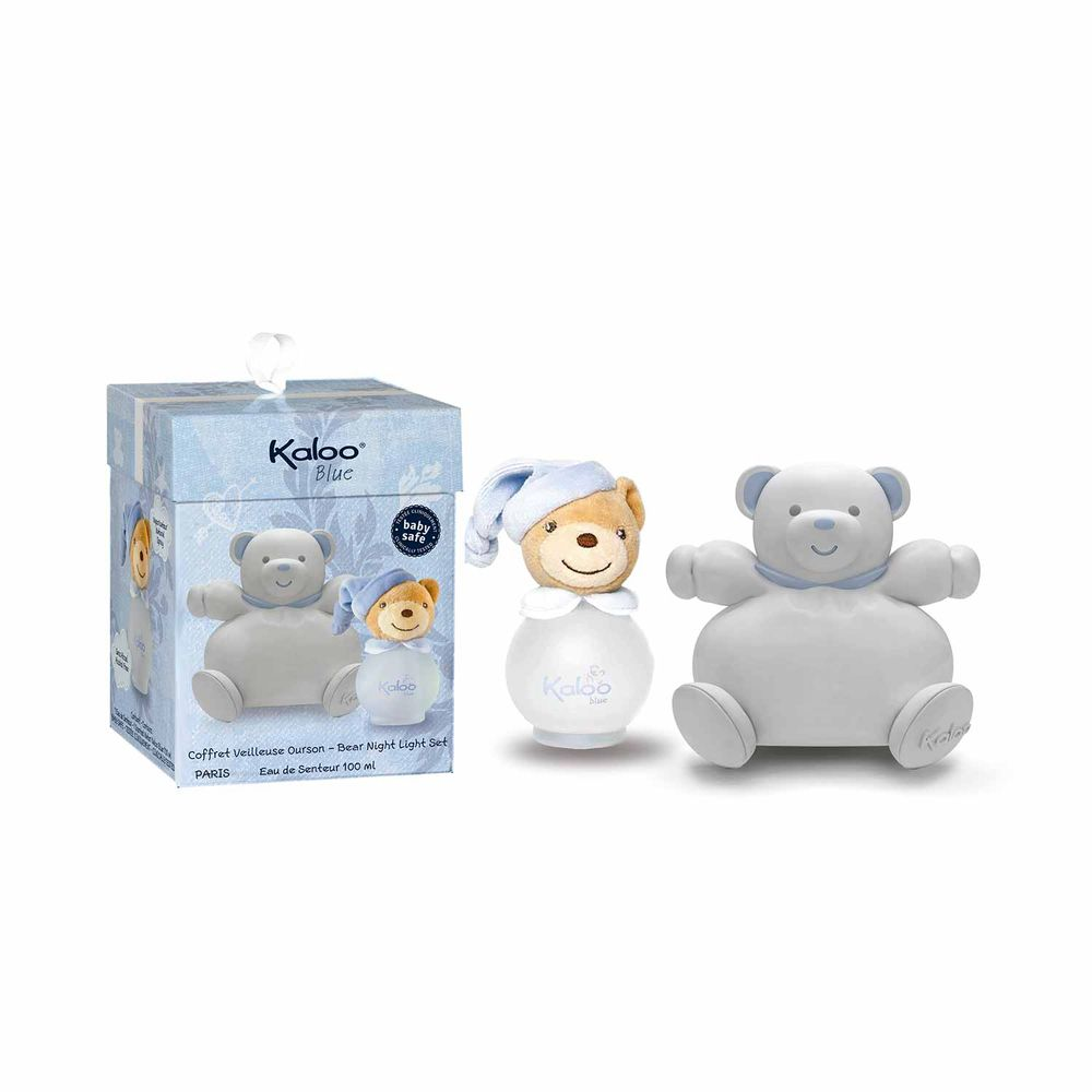 Kaloo Blue Scented Water 100 ml + Set Lampara Bear