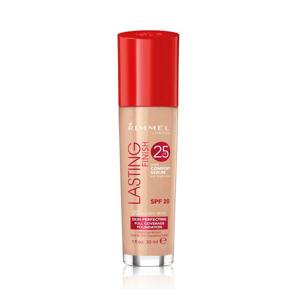 Lasting Finish Foundation 25hs 201 Classic Beige