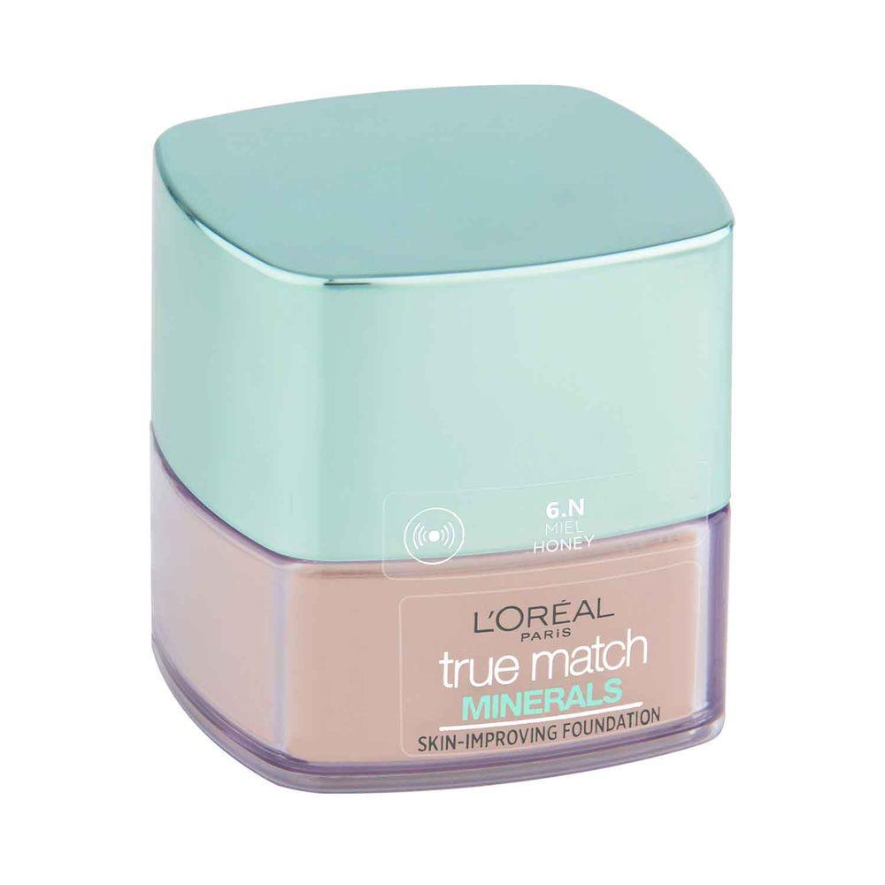 True Match Mineral Powder 6N Miel