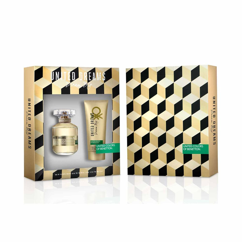 United Dreams Big Her EDT 80 ml + Body Lotion