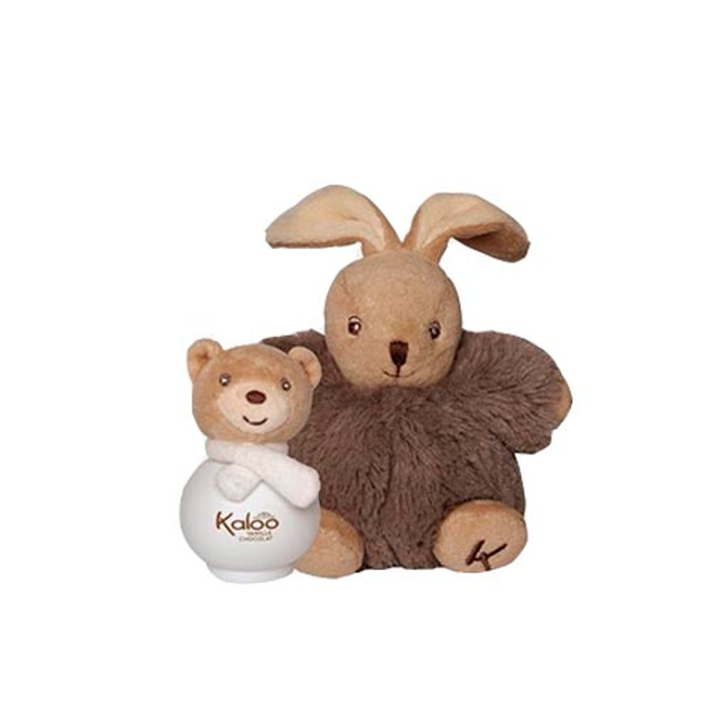 Kaloo Scented Water EDT 100 ml Vanille Chocolat + Maxi Fluffy Set