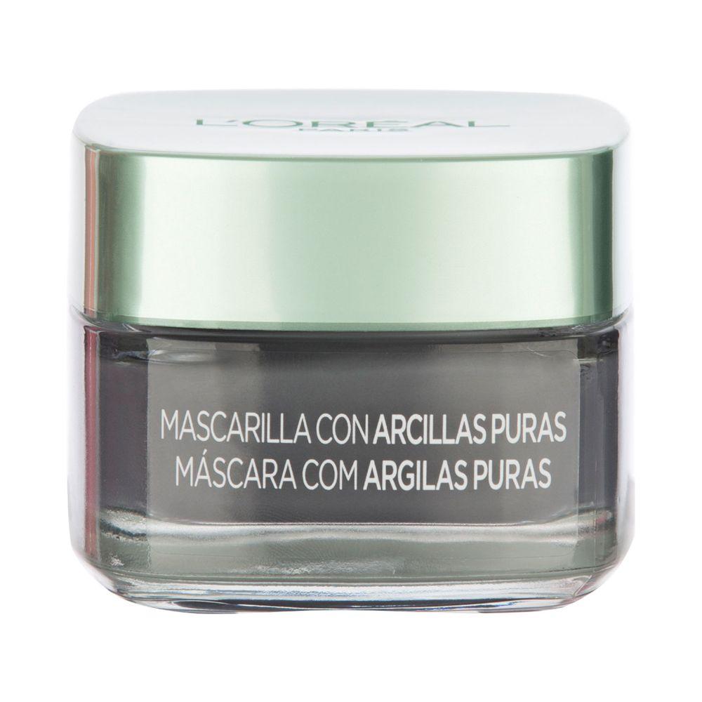 Mascarilla con Arcillas Puras Carbon Efecto Detox 50 ml