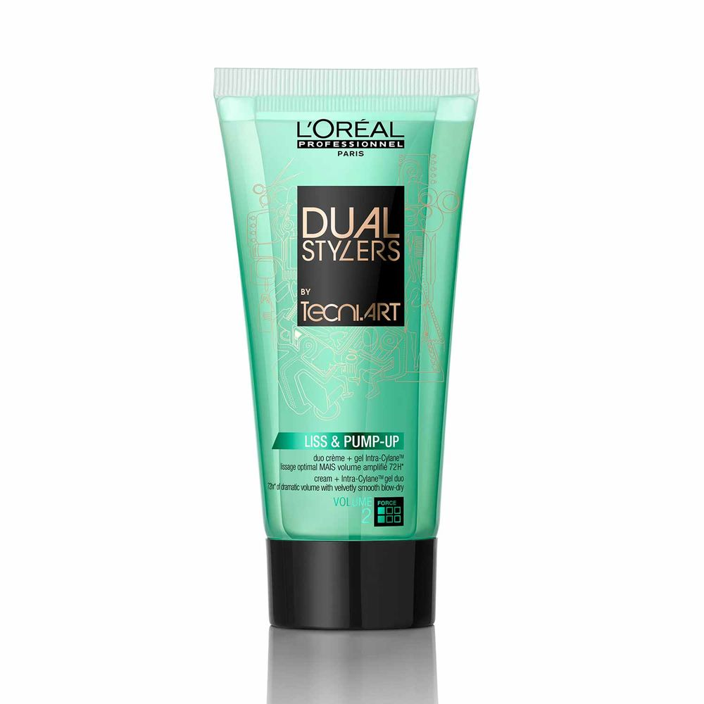 Tecni Art Dual Stylers Liss and Pump Up 150 ml