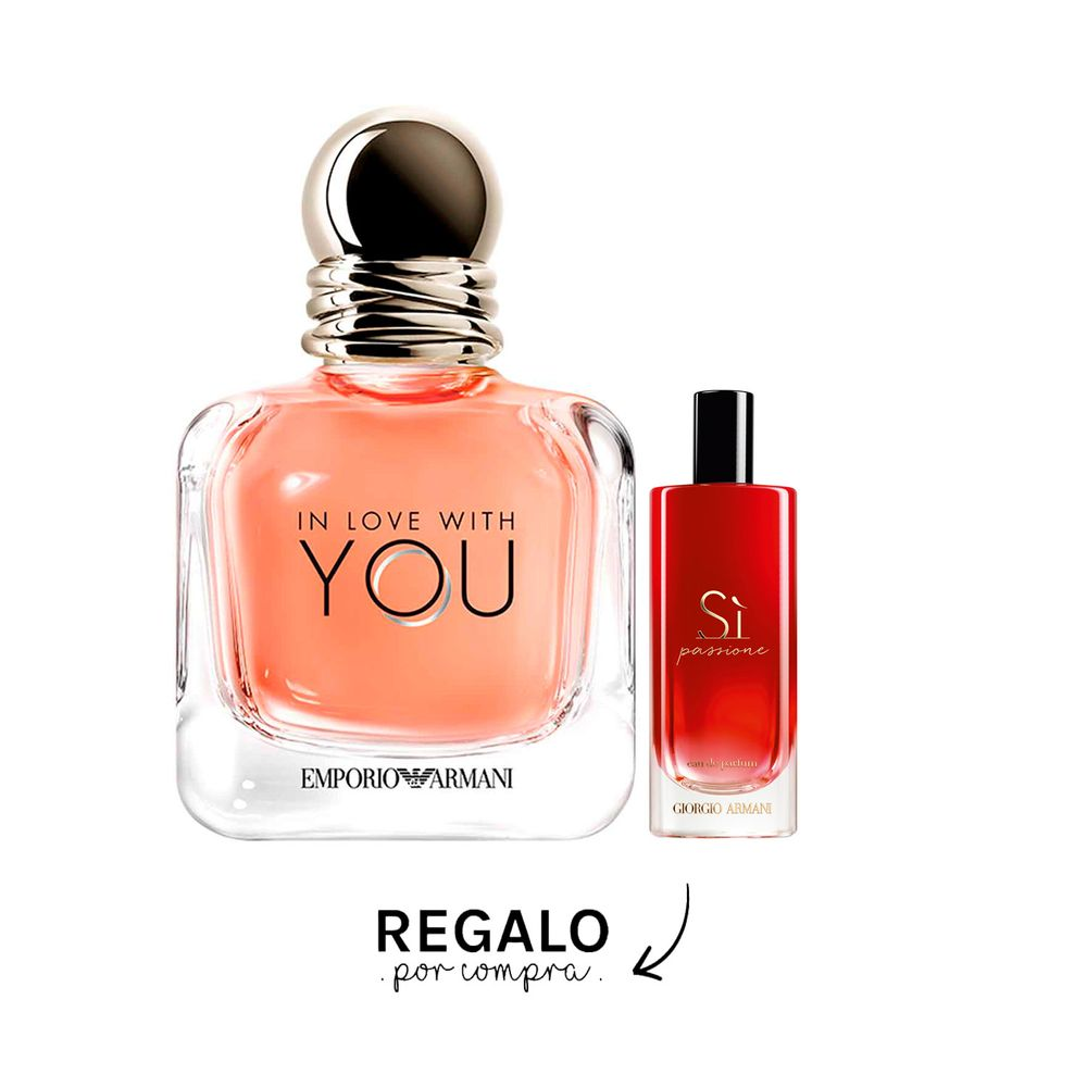 In Love With You EDP 100 ml + Si Passione EDP 15 ml