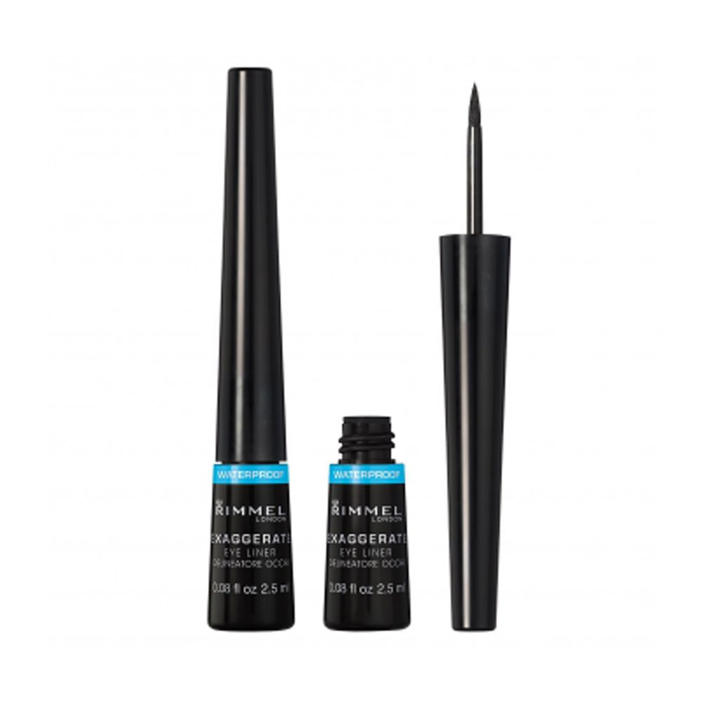 Exaggerate Liquid Eye Liner Waterproof 003 Black