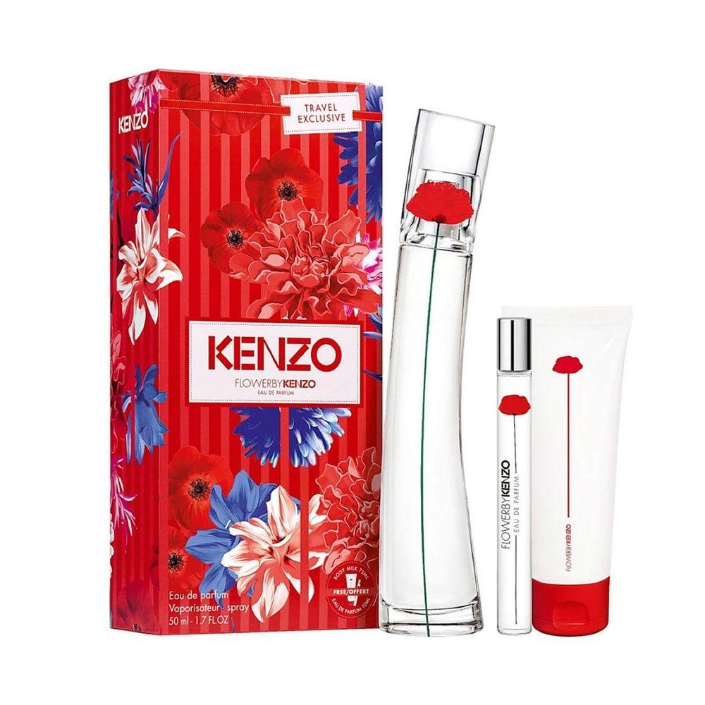 Flower By Kenzo EDP 50 ml + Body Milk y EDP 10ml