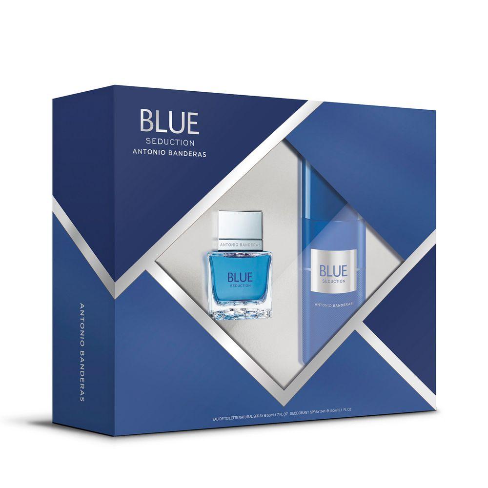 Blue Seduction For Men EDT 100 ml + Deo