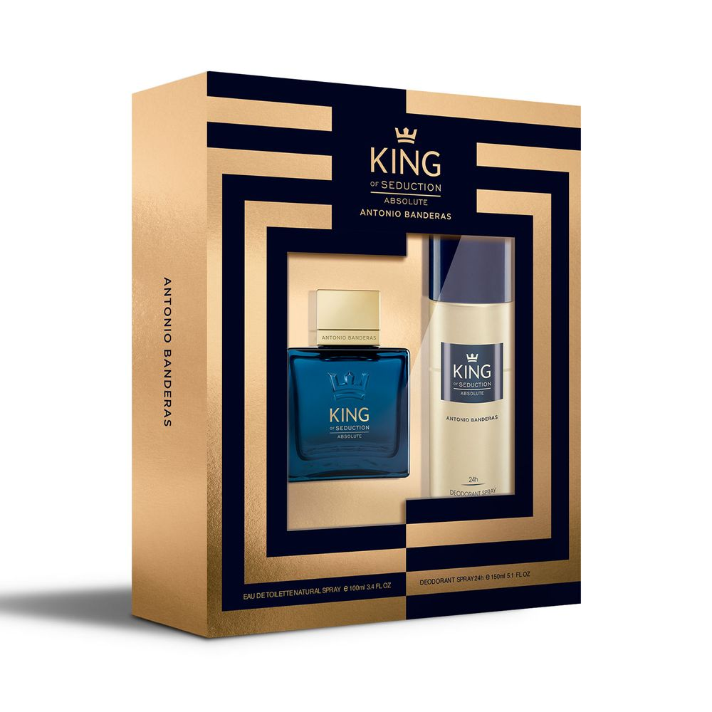 King Of Seduction Absolute EDT 100 ml + Deo
