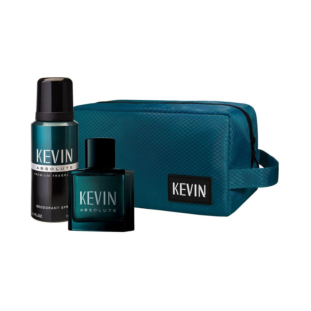 Kevin Absolute EDT 60 ml + Deo y Neceser