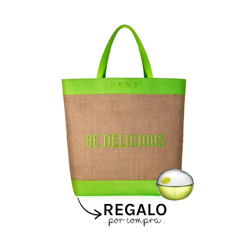 Be Delicious EDP 100 ml + Cartera Beige y Guardas Verdes