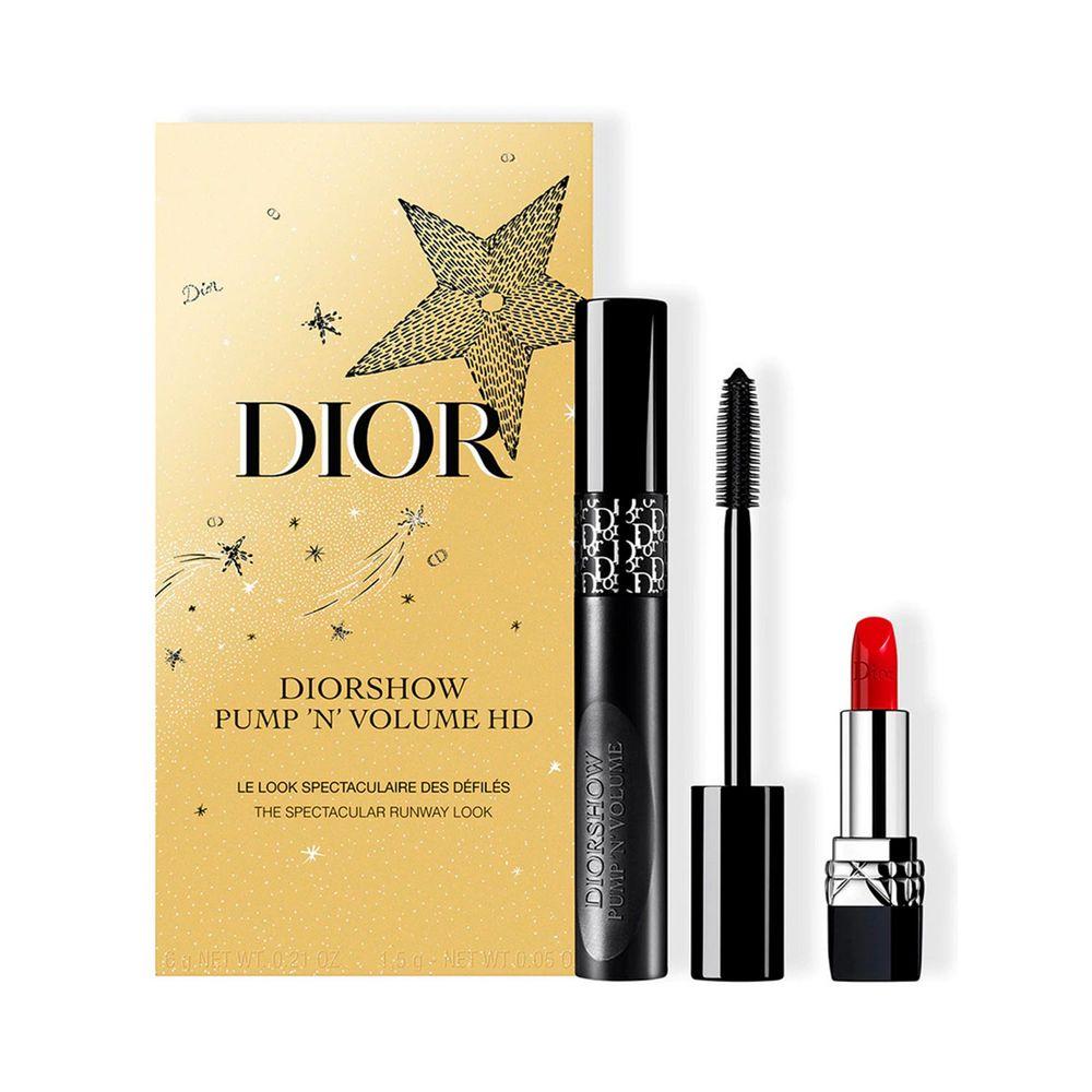 Diorshow Pump N Volume 090 Black + Mini Rouge