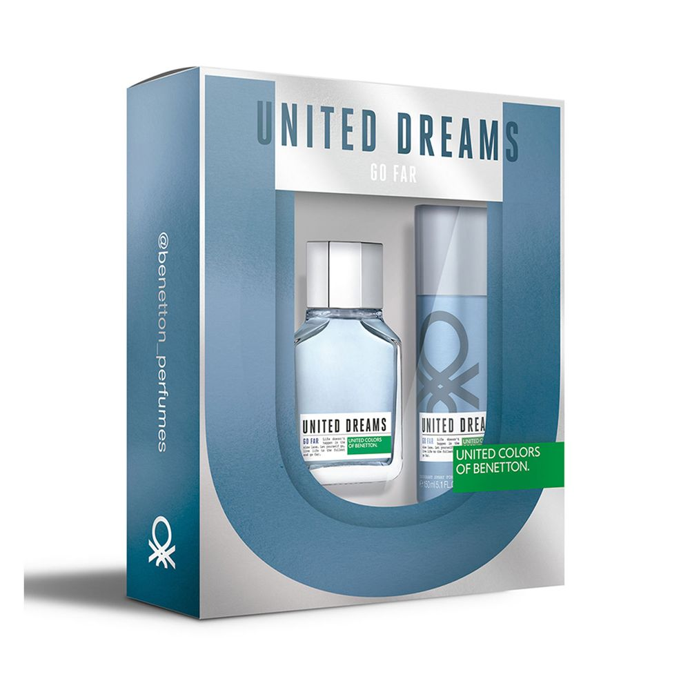 United Dreams Go Far EDT 100 ml + Deo