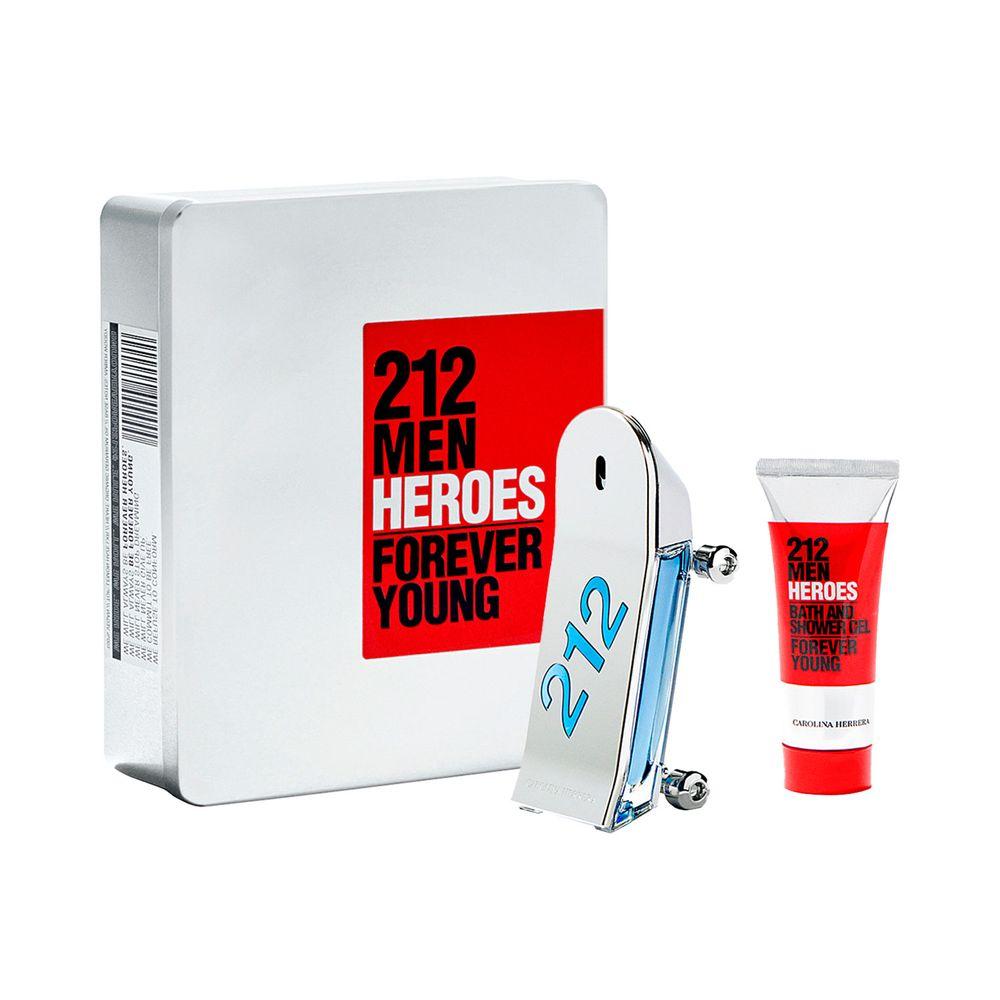 212 Heroes EDT 90 ml + Shower Gel