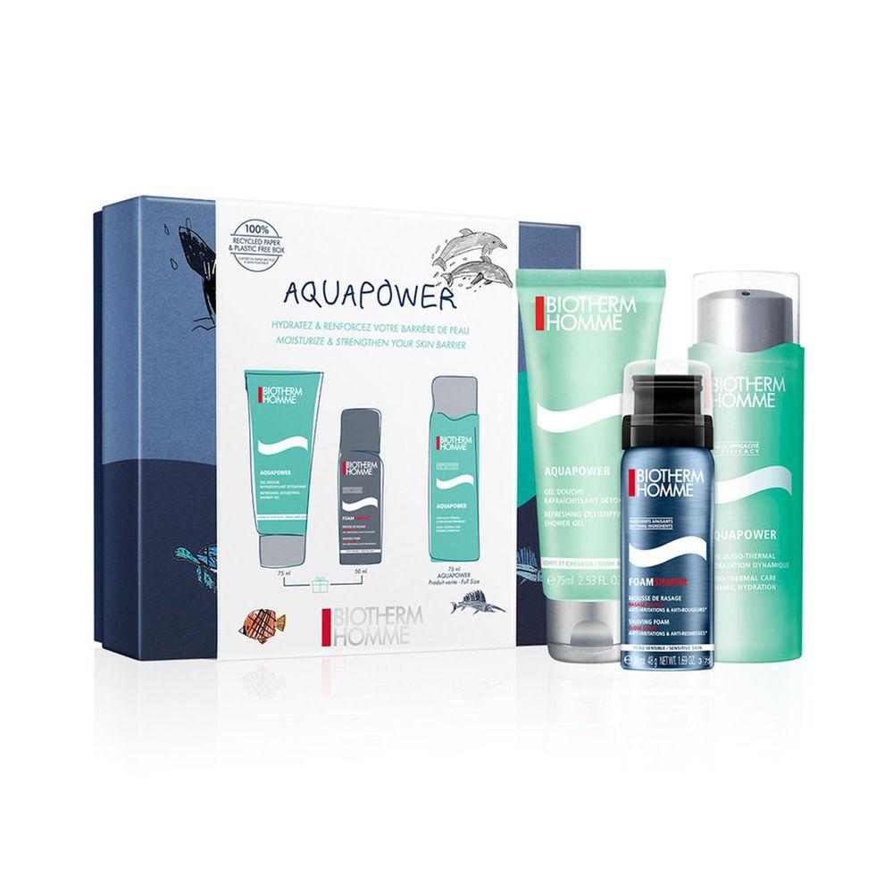 Aquapower Soin Hydratant Piel Normal 75 ml + Shower Gel y Rasage