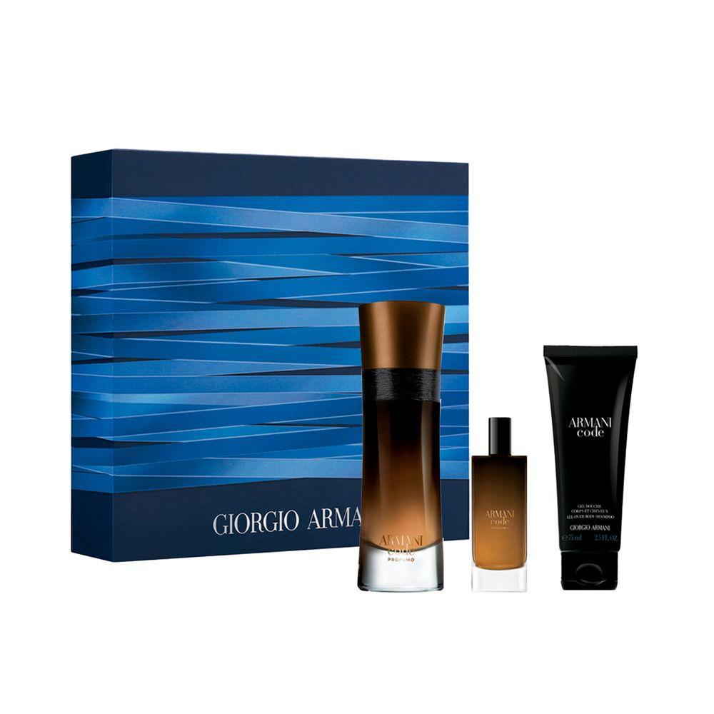 Armani Code Profumo EDP 60 ml + EDP 15 ml y Shower Gel Ed. Limitada