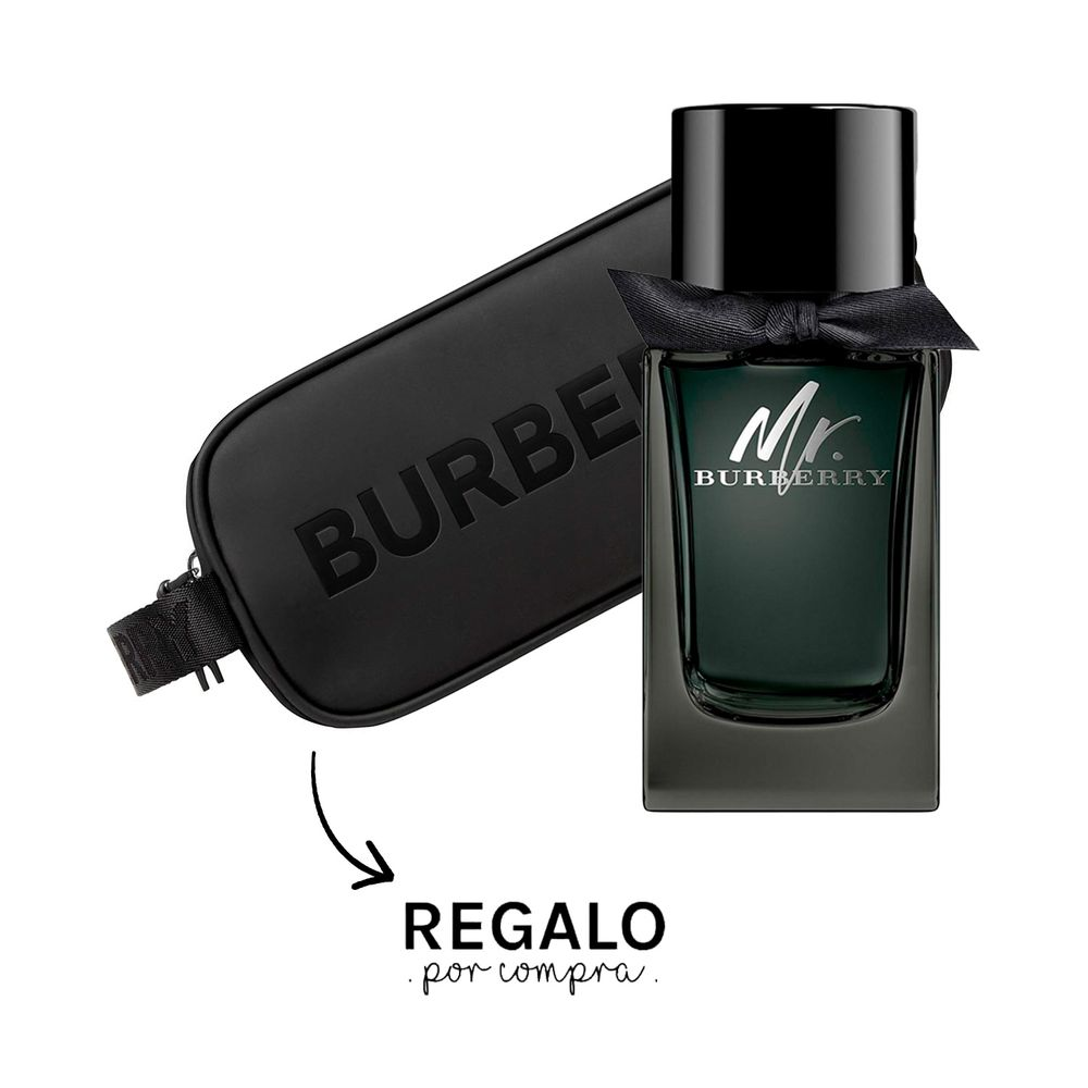 Mr Burberry EDP 100 ml + Large Pouch