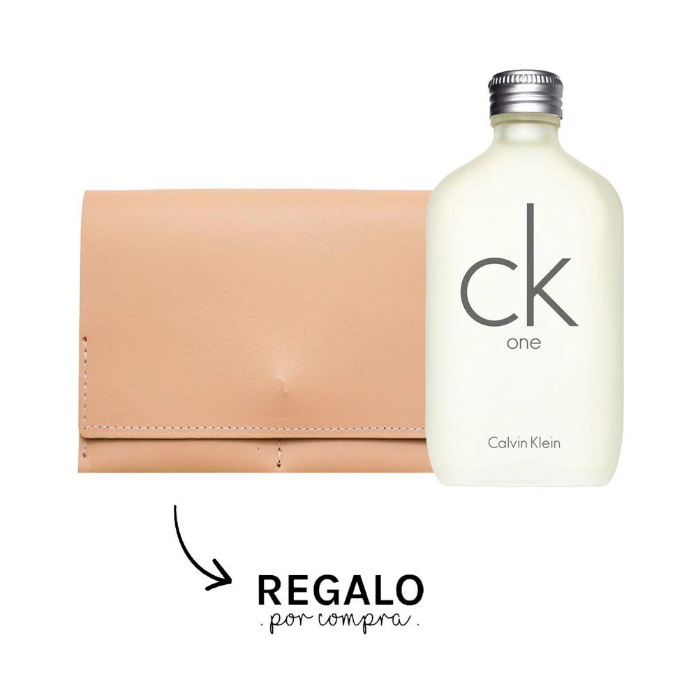 CK One EDT 200 ml +Billetera Ginger
