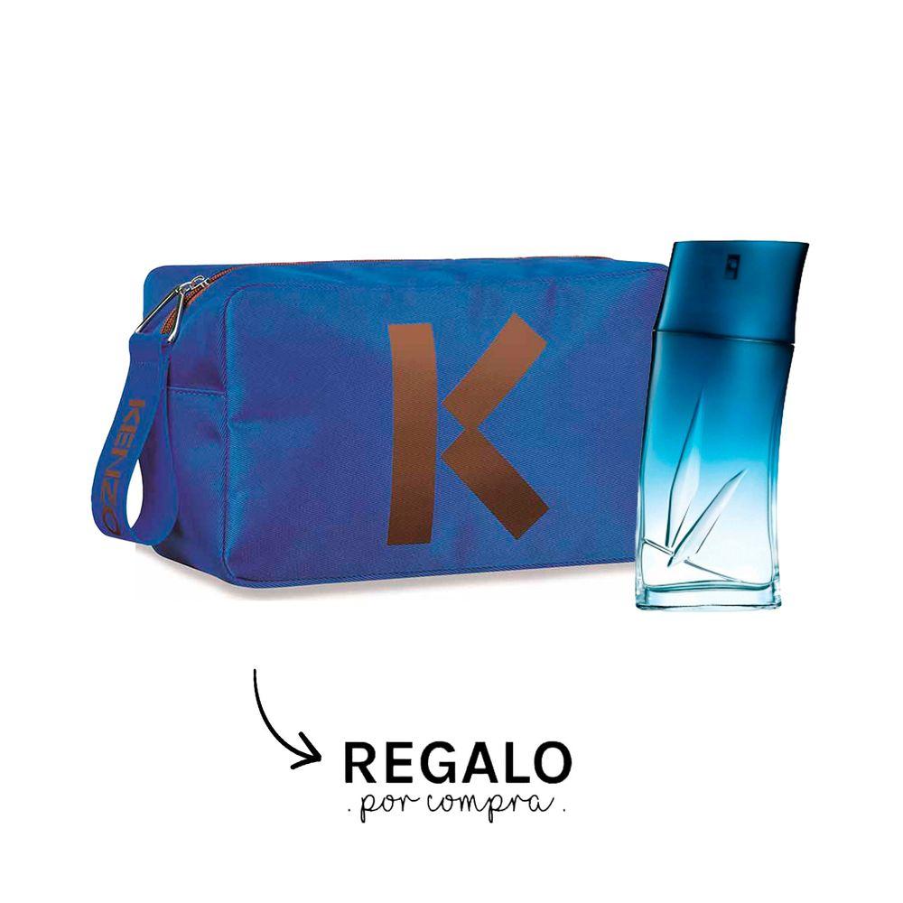 Kenzo Homme EDP 100 ml +Neceser Azul