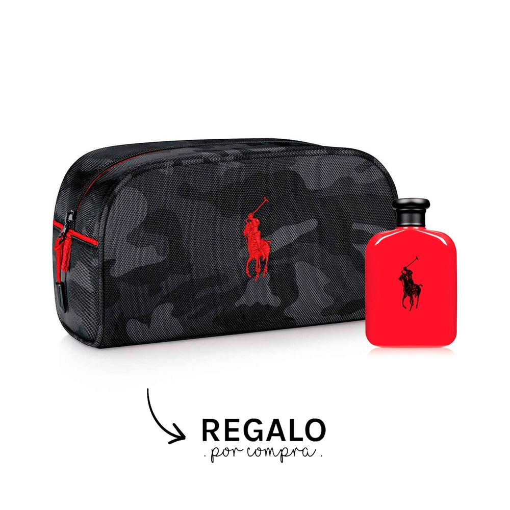 Polo Red EDT 75 ml + Neceser Camuflado
