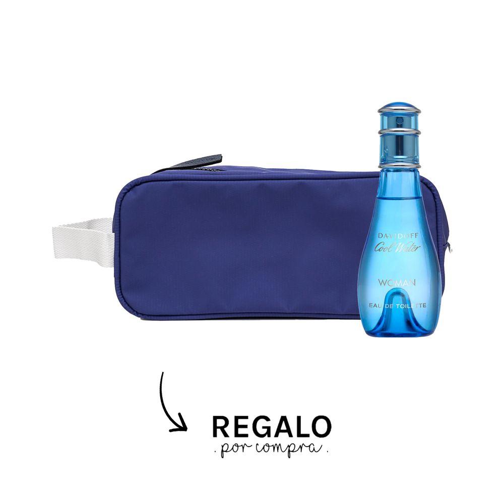 Davidoff Cool Water Woman EDT 100 ml + Neceser Azul