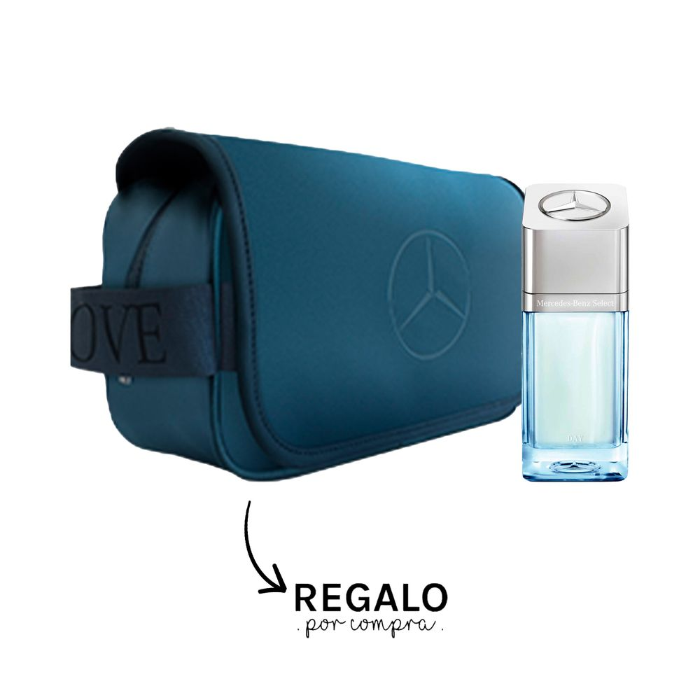 Mercedes Benz Select Day EDT 50 ml + Toiletry Bag