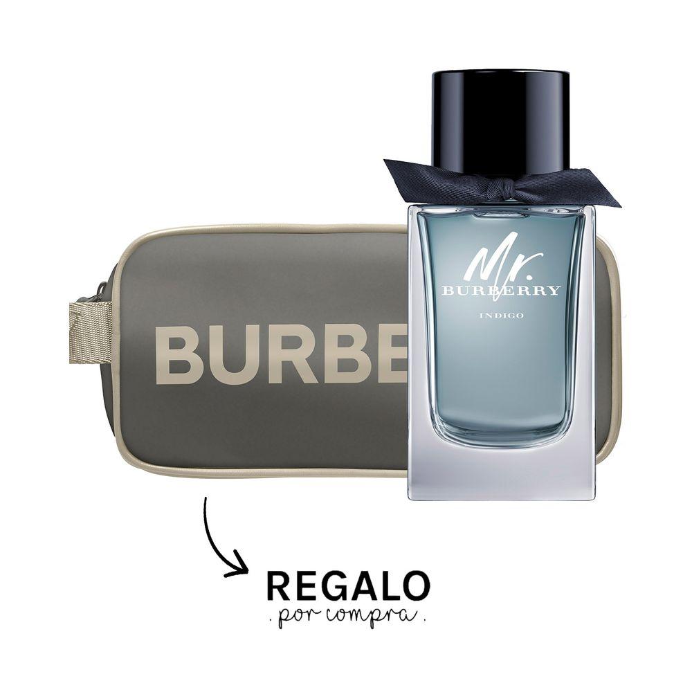 Mr Burberry Indigo EDT 100 ml + Pouch