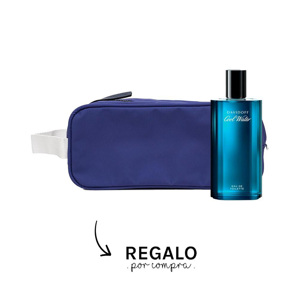 Davidoff Cool Water EDT 125 ml + Neceser Azul