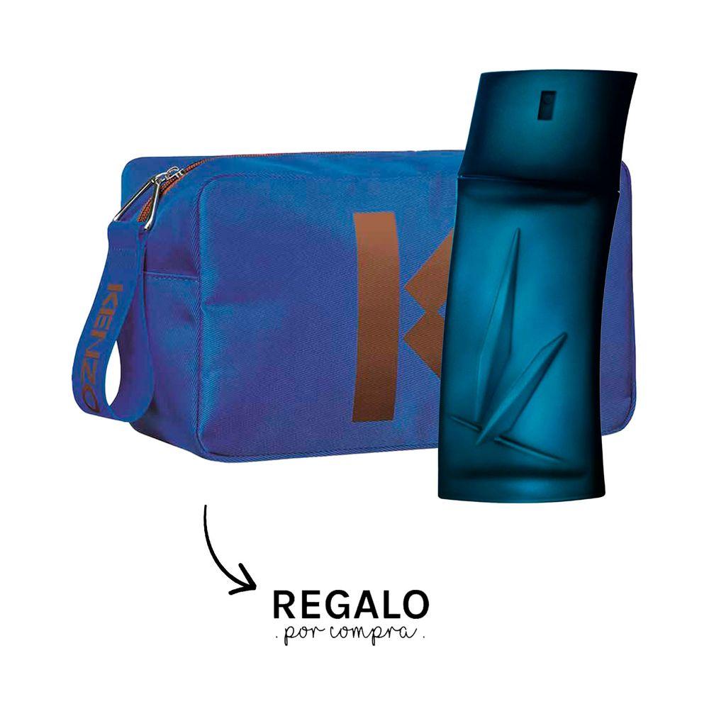 Kenzo Homme EDT 100 ml + Neceser Azul