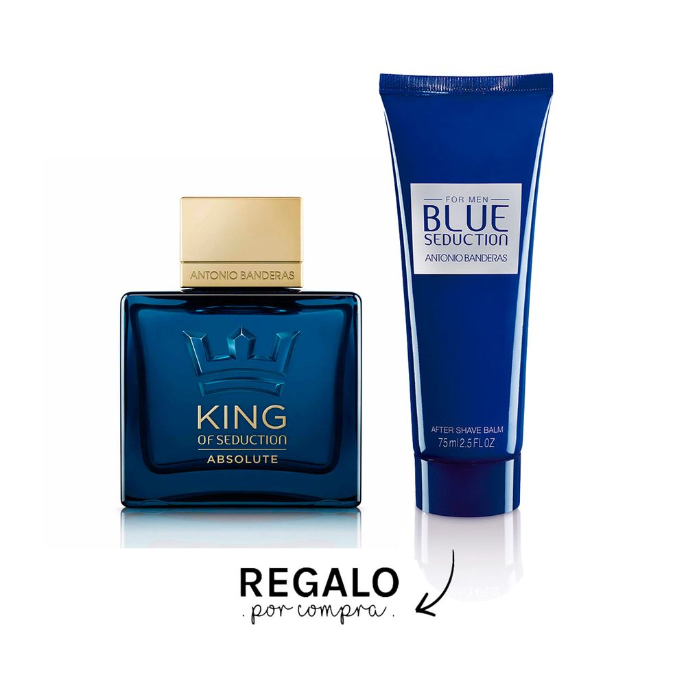 King Of Seduction Absolute EDT 100 ml + After Shave