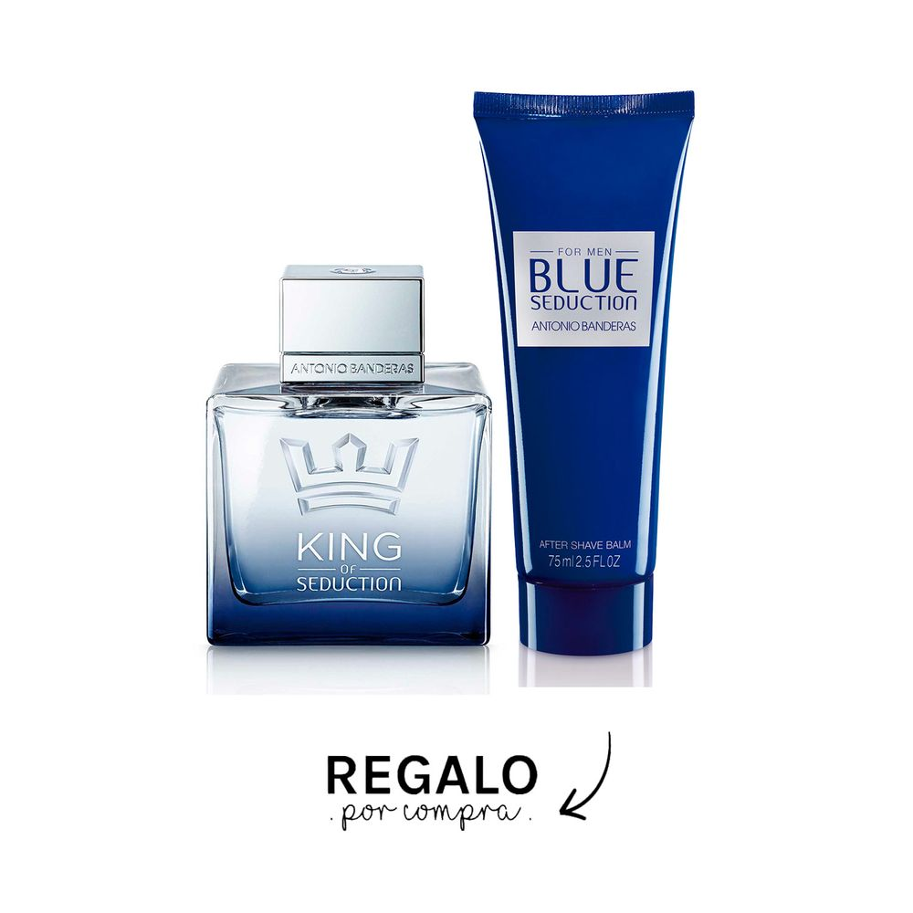 King Of Seduction EDT 100 ml + After Shave