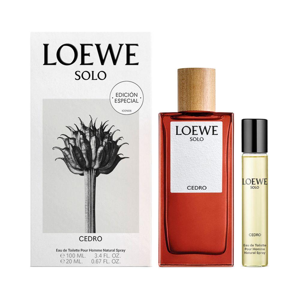 Solo Loewe Cedro EDT 100 ml + EDT 20ml Ed. Limitada