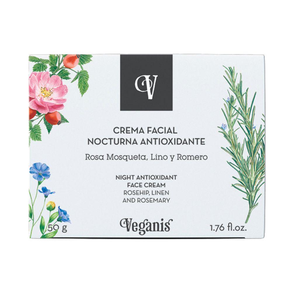 Veganis Crema Nocturna Antioxidante 50 g