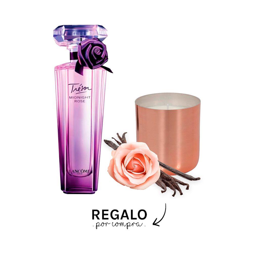 Tresor Midnight Rose EDP 75 ml + Vela Aromatica