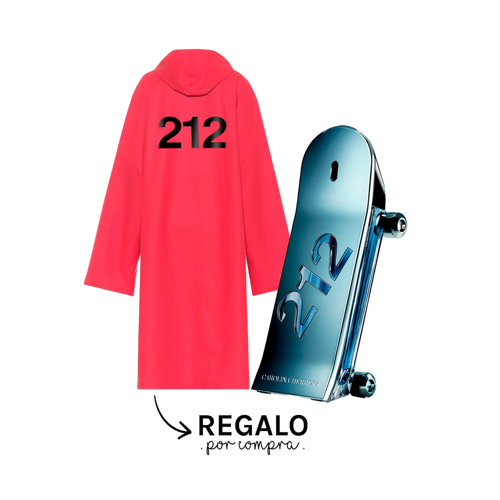 212 Heroes EDT 90 ml + Raincoat