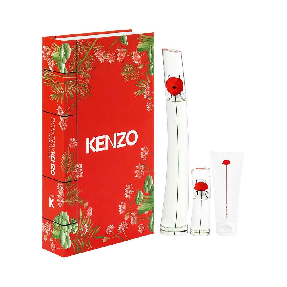 Flower By Kenzo EDP 100 ml + Body Milk y EDP 15ml